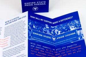 Empire State Pride Agenda Fundraising Brochure