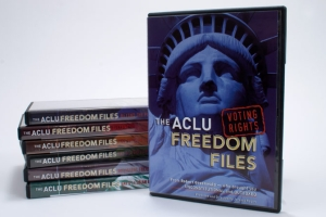 ACLU Freedom Files DVD packaging