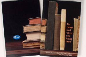 Pfizer brochure - Put Things Back Where You Found Them
