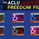 Banners and buttons from The Freedom Files microsite