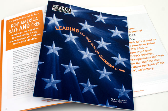 ACLU Annual Report 2004